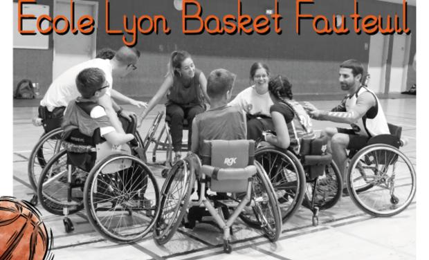 Visuel du projet Une ECOLE de basket fauteuil pour ENFANTS en SITUATION de HANDICAP