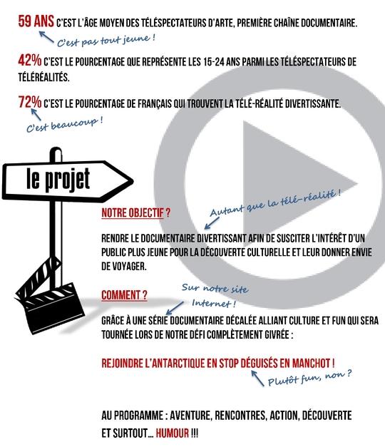 Projet Sacré Manchots