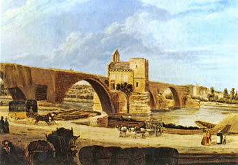 Peinture-pont-avignon-1410879023