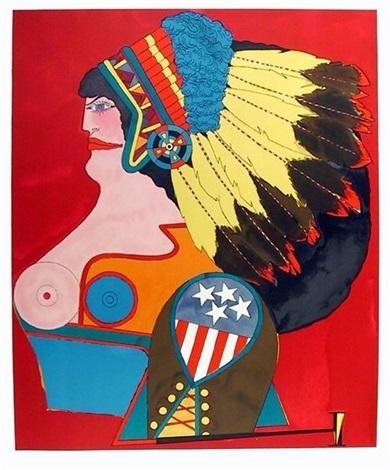 Richard-lindner-miss-american-indian1970-1418146684