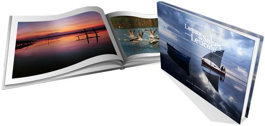 Présentation non contractuelle du projet de livre sur la lagune de Salses-Leucate