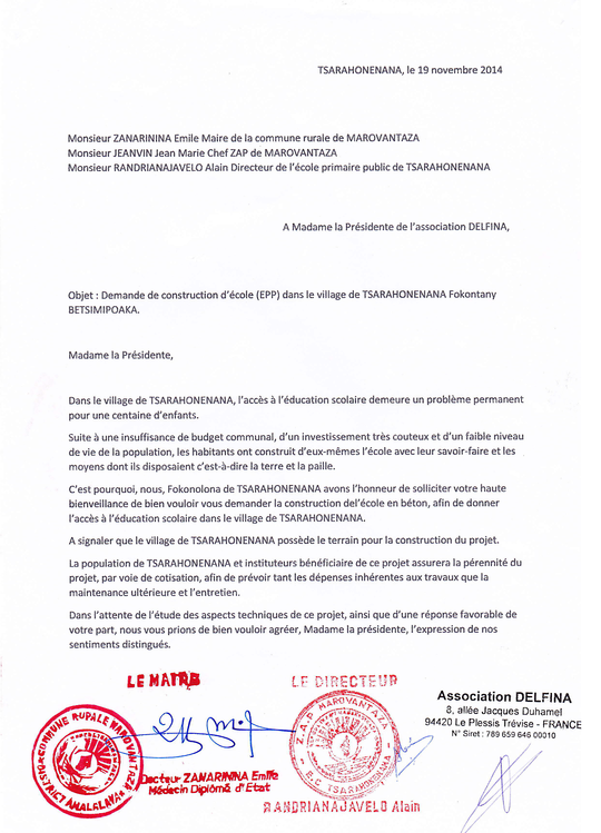 Lettre-maire-tsarahonenana-1436785385