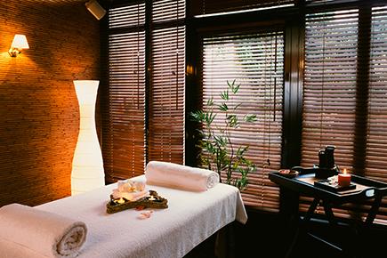 Salle de massage aprés