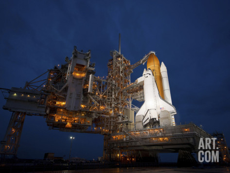 Stocktrek-images-night-view-of-space-shuttle-atlantis-on-the-launch-pad-at-kennedy-space-center-florida-1452705310