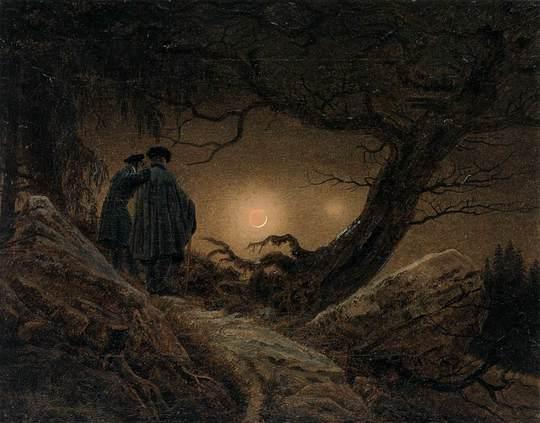 Dos-hombres-contemplando-la-luna-1454688604