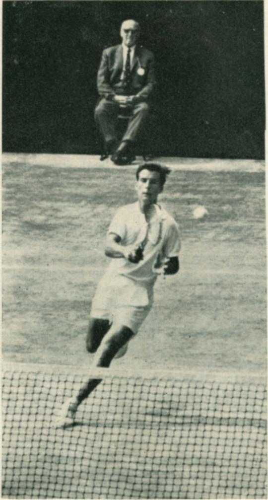Jacques Thamin à Wimbledon_en 1968
