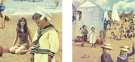 "be RETRO ""La plage"" color - extraits"