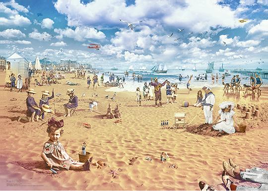 """be RETRO """"La plage"""""""