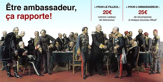 be RETRO  Les Ambassadeurs