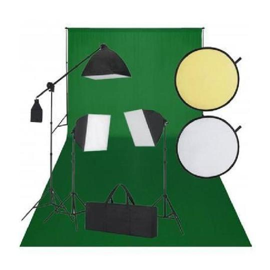 Kit-photo-3-softbox-fond-vert-et-reflecteur-styla-1496837562