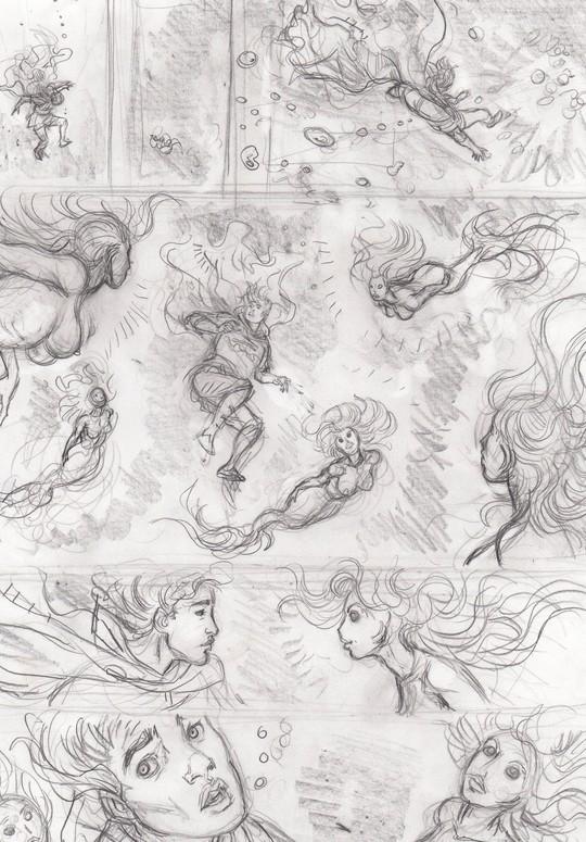 Storyboard_les_druides_tome_5_page_3_crayon_sur_papier_format_am_ricain_11_pouces_x_17_pouces_100_euros-1511341562