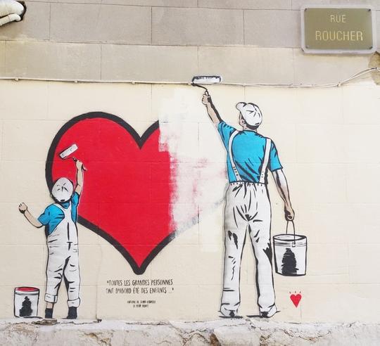 Montpellier Street Art Le Livre Kisskissbankbank