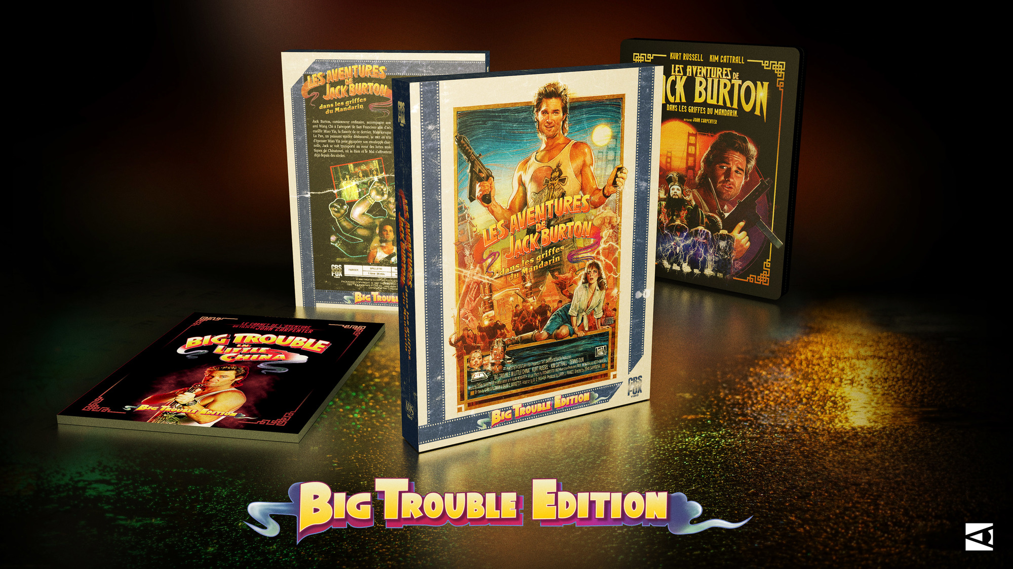 Jack Burton: Big Trouble Edition – sur KKBB
