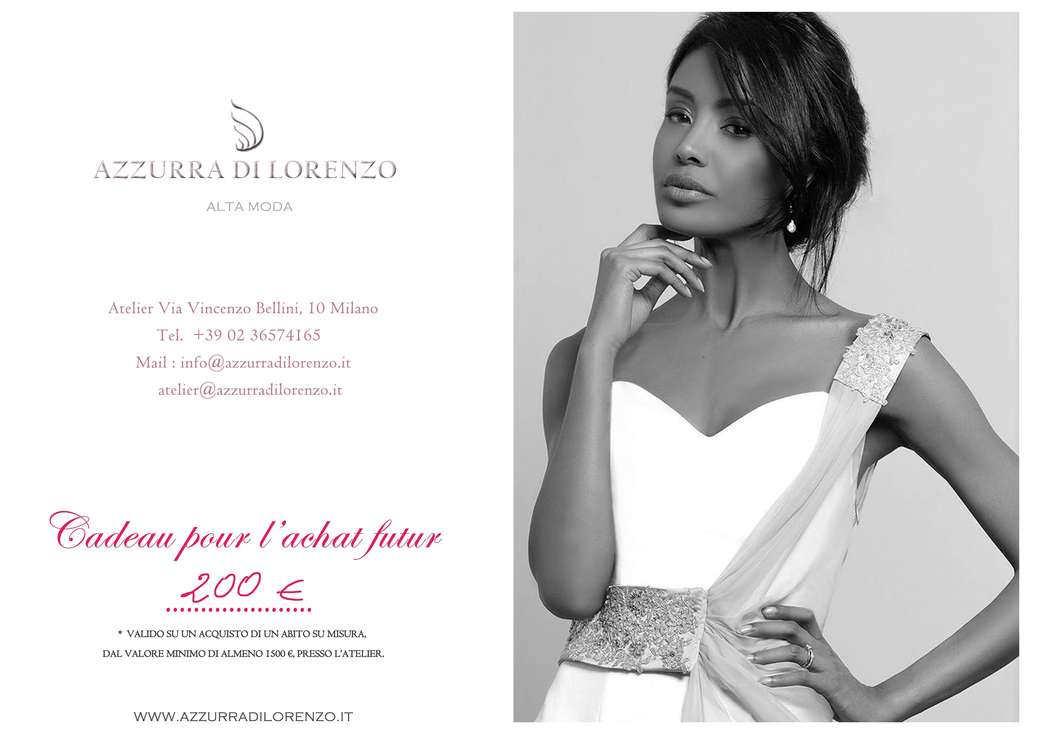 a7e82d52f73a AZZURRA DI LORENZO Couture by Atelier Azzurra Di — KissKissBankBank