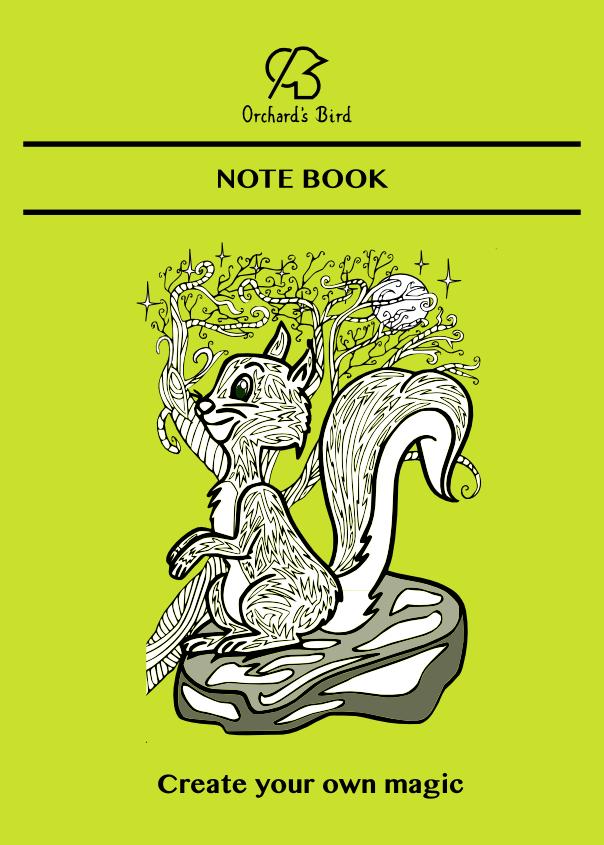 Notitieboek_A5_-_squirrel_-_Copyright_Falke_Bogaerts_-_Orchard_s_Bird_copyright_99dpi_-1464879646.png