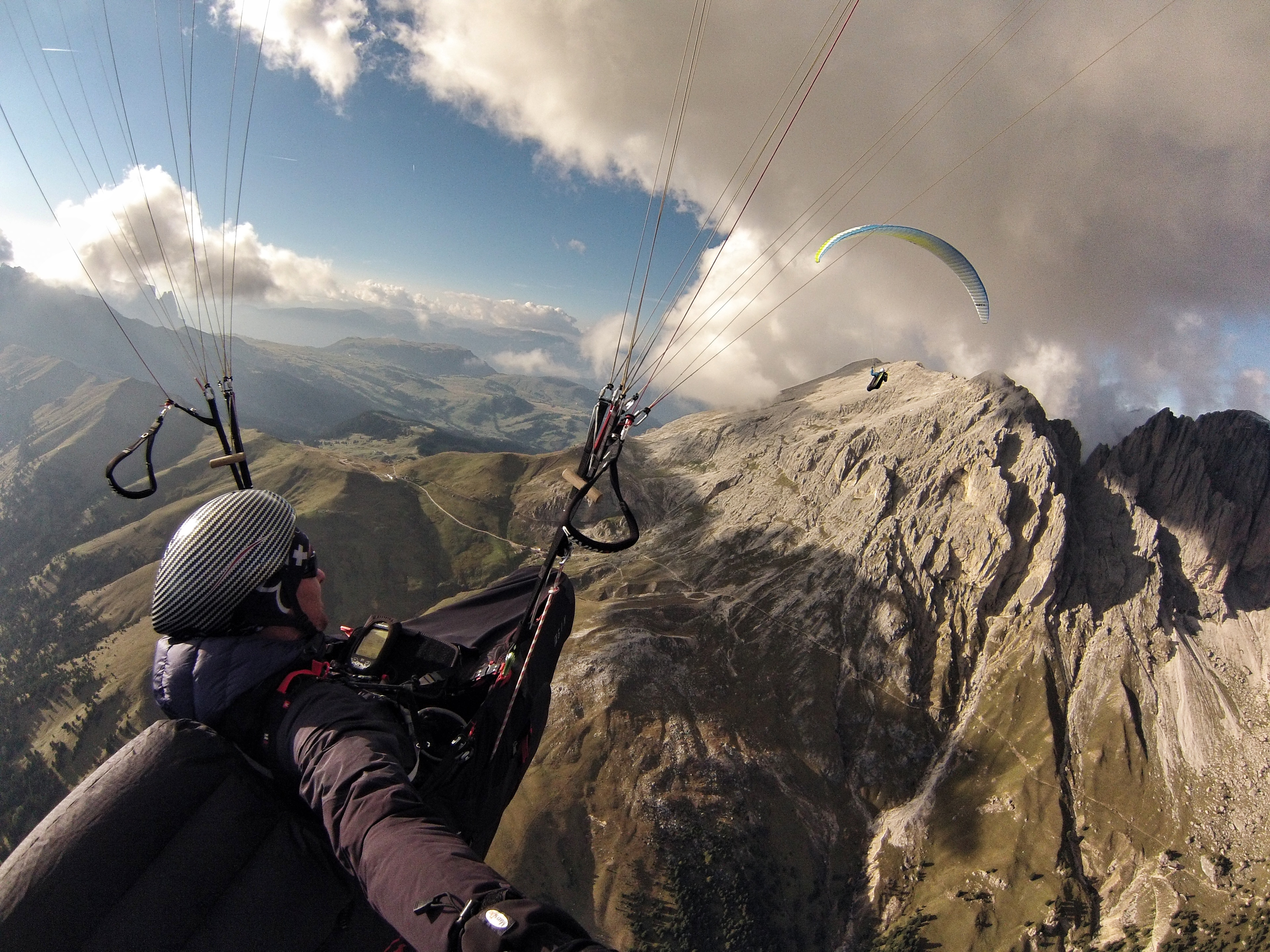 Arnaud at the World cup paragliding Superfinal by