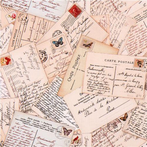 cream-letter-mail-postcard-retro-fabric-Spring-in-Paris-Elizabeths-Studio-193039-1-1510258509.jpg