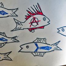 Normal poissons mort et punk detail2